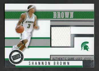 2006 Press Pass Jerseys JCSB Shannon Brown $8.00