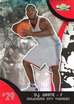 2007-08 Finest Refractors #129 D.J. White