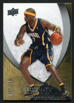 2007-08 Exquisite Collection 18 Jermaine O'Neal $8.00