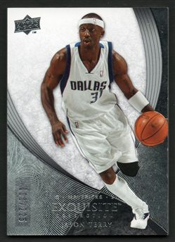 2007-08 Exquisite Collection 32 Jason Terry $6.00