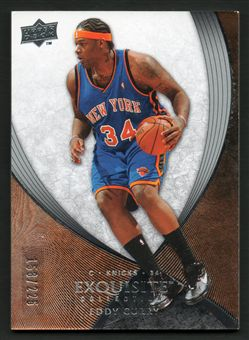 2007-08 Exquisite Collection 45 Eddy Curry $5.00