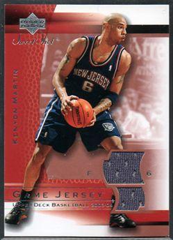 2003-04 Sweet Shot Jerseys KMJ Kenyon Martin $6.00