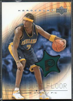 2003-04 Upper Deck Hardcourt Floor JOF Jermaine O'Neal $6.00