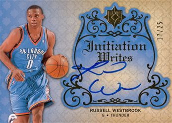 2e516d3ef39164 2008-09 Ultimate Collection Initiation Writes IWRW Russell Westbrook