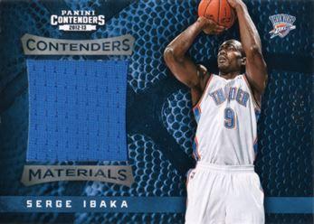2012-13 Contenders Materials 40 Serge Ibaka