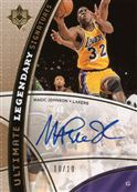 2008-09 Ultimate Collection Legendary Signatures