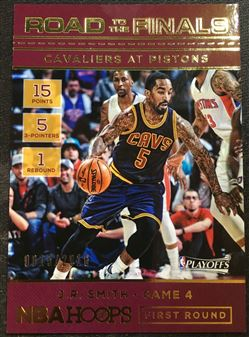 2016-17 Hoops Road to the Finals #4 J.R. Smith Round 1