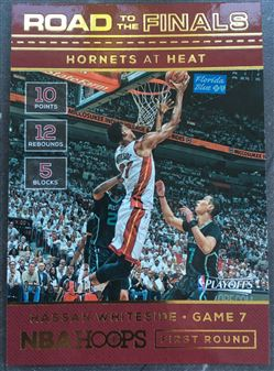 2016-17 Hoops Road to the Finals #17 Hassan Whiteside