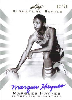 2012-13 Leaf Signature Silver #MH1 Marques Haynes/50