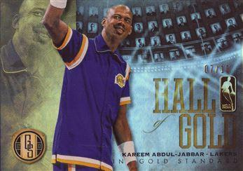 2012-13 Panini Gold Standard Hall of Gold Platinum #7 Kareem Abdul-Jabbar