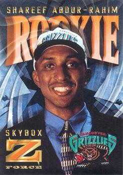 1996-97 Z-Force Z-Cling #R3 Shareef Abdur-Rahim
