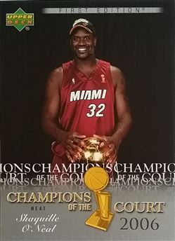 2007-08 UPPER DECK FIRST EDITION CHAMPIONS OF THE COURT #CCSO