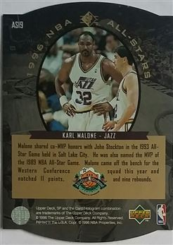 1995-96 SP All-Stars Gold #AS19