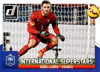 2015 Donruss International Superstars #20 Hugo Lloris
