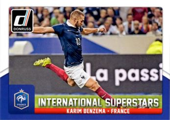 2015 Donruss International Superstars #60 Karim Benzema
