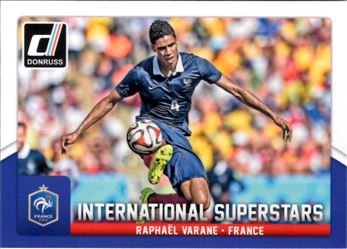 2015 Donruss International Superstars #79 Raphael Varane