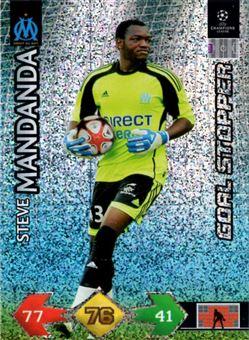2009-10 Panini UEFA Champions League Super Strikes #246 Mandanda Steve/Goal Stopper