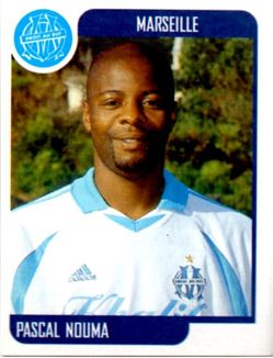 2001-02 Panini FOOT Ligue 1 Stickers #195 Pascal Nouma
