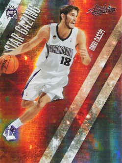 2009-10 Absolute Memorabilia Star Gazing #18 Omri Casspi