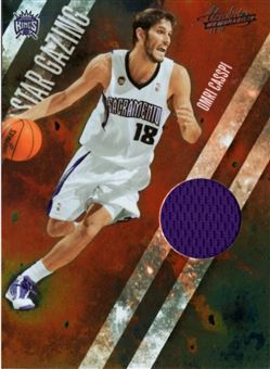 2009-10 Absolute Memorabilia Star Gazing Materials #18 Omri Casspi/100