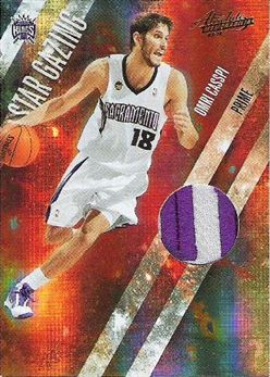 2009-10 Absolute Memorabilia Star Gazing Materials Prime #18 Omri Casspi/10