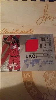 2015-16 Panini Absolute 'Frequent Flyers' #36 Paul Pierce