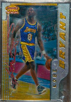 1996-97 Bowman's Best Picks #BP10 Kobe Bryant