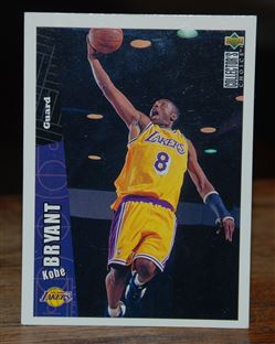 1996-97 Collector's Choice #267 Kobe Bryant RC