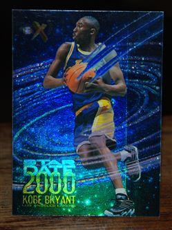 1996-97 E-X2000 Star Date 2000 #3 Kobe Bryant