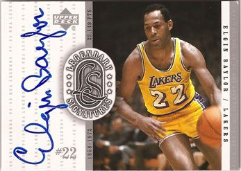 2000 Upper Deck Century Legends Legendary Signatures #EB Elgin Baylor