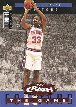1994-95 Collector's Choice Crash the Game Rookie Scoring #S3 Grant Hill