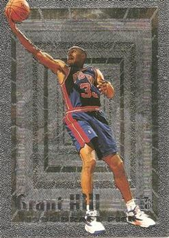 1994-95 Embossed #103 FOIL Grant Hill RC