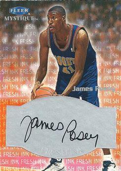 1999-00 Fleer Mystique Fresh Ink #JAPO James Posey