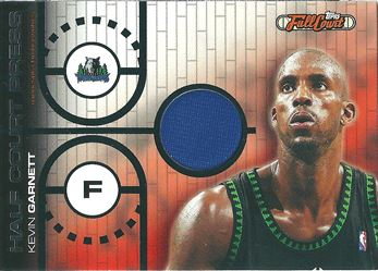 2006-07 Topps Full Court Half Court Press Relic #HCP21 Kevin Garnett /249 (Timberwolves)