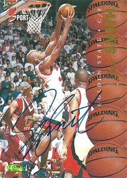1995 Classic Five Sport Autographs #1 Joe Smith