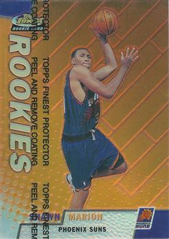 1999-00 Finest Refractors #121 Shawn Marion