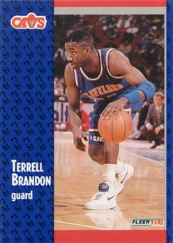 1991-92 Fleer #262 Terrell Brandon RC