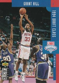 1994-95 Collector's Choice International German #409 Grant Hill DC