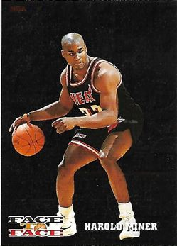 1993-94 Hoops Face to Face #10 Harold Miner/Michael Jordan (Heat/bulls)