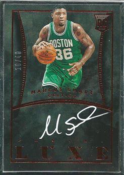 2014-15 Panini Luxe Autographs #33 Marcus Smart/40 (Celtics)