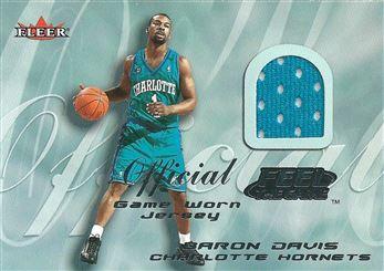 2000-01 Fleer Feel the Game #6 Baron Davis