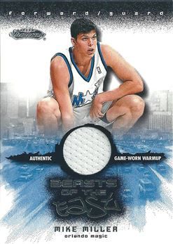 2001-02 Fleer Showcase Beasts of the East #11 Mike Miller (Magic)