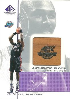 2000-01 SP Game Floor Authentic Floor #KA Karl Malone