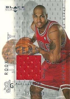 2000-01 Black Diamond #125 Marcus Fizer /1750 (Red)