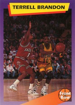 1992 Front Row Dream Picks #99 Terrell Brandon/Quickest in the League