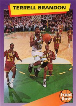 1992 Front Row Dream Picks #100 Terrell Brandon