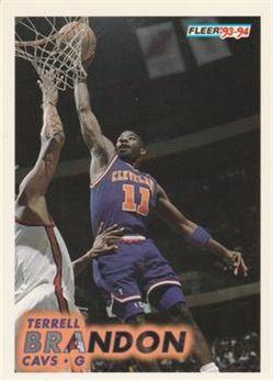 1993-94 Fleer #34 Terrell Brandon