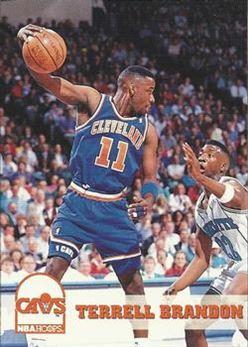 1993-94 Hoops #36 Terrell Brandon