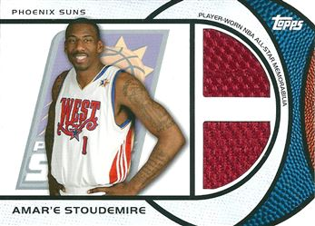 2009-10 Topps All-Star Relics Dual #ASDAS Amare Stoudemire