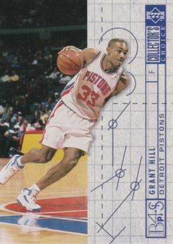 1994-95 Collector's Choice International French #379 Grant Hill BP